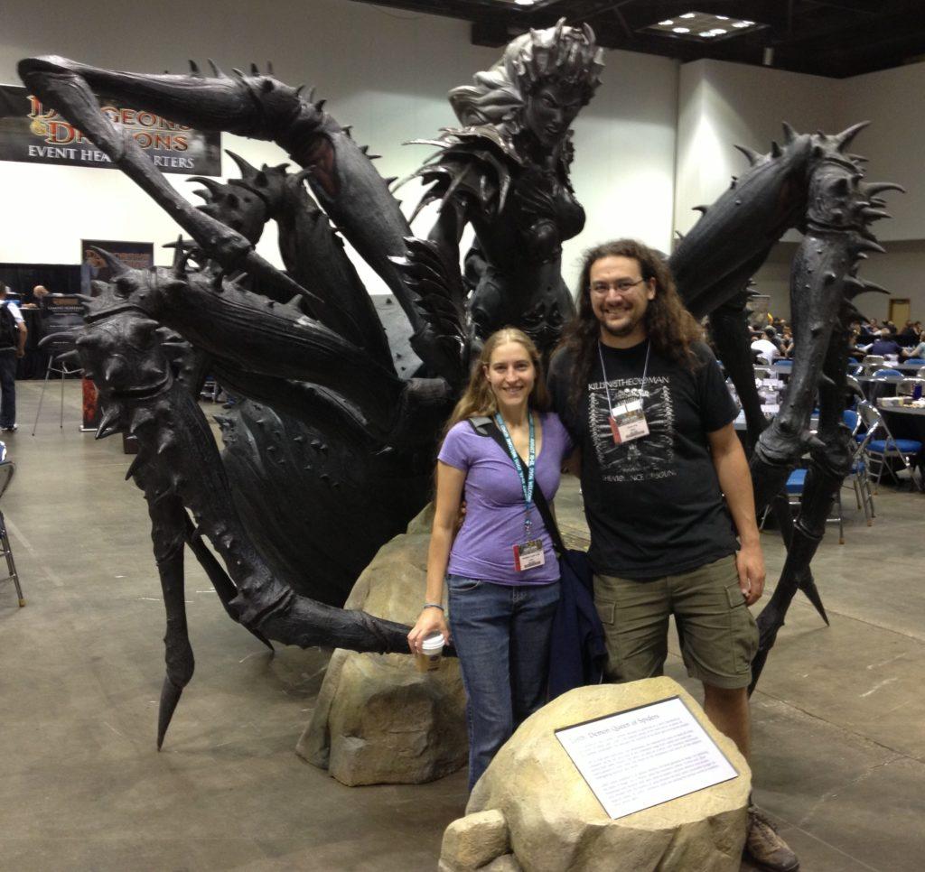 Beth Tucker Long and Chris Long